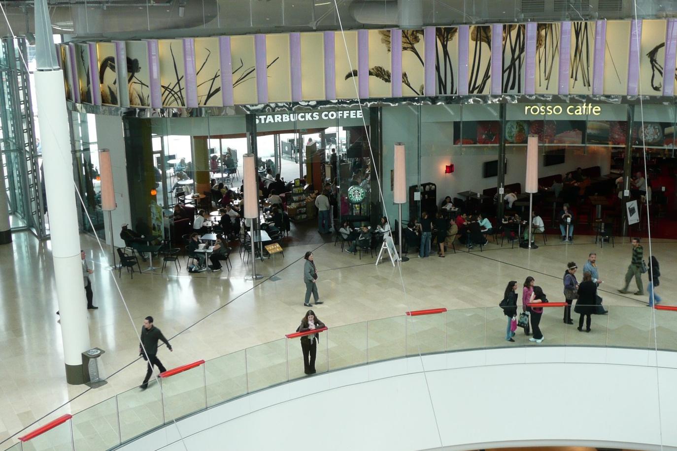floor shopping mall la défense paris 94 setp