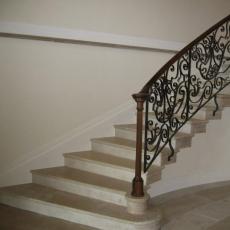 Escalier en pierre naturelle