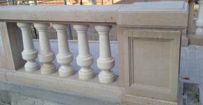 Baluster made with Comblanchien