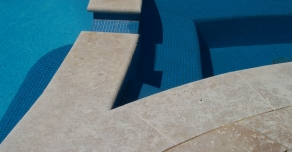 Custom made for the pool edges