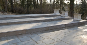 Terrace realised with Villebois Flamed