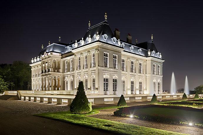 Terrasse en Lanvigne du Chateau de Louveciennes (78)